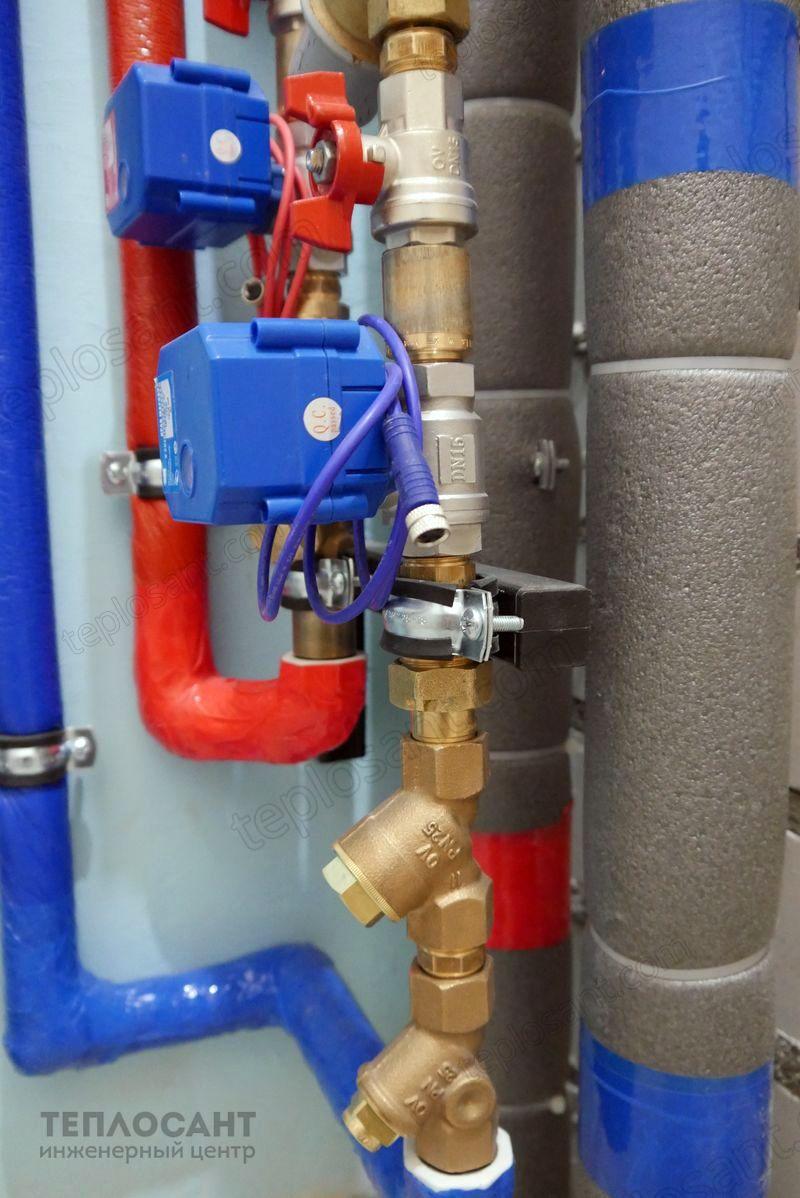 Водозабор квартирного водопровода узел ввода фото